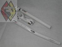 Free Shipping!!!Humpert x-tas-y aluminium alloy white set /bicycle parts