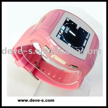 MQ007 lady watch mobile phone,wrist mobile phone,1GB&mono Bluetooth headset