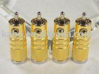 CARDAS SRCA Signature Series Gold plate Male RCA X4 pcs