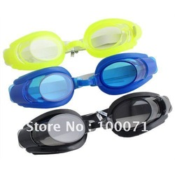 Summer Crystal Swim Goggles w/ Earbud Nose Clip Set [3644|01|01](China (Mainland))