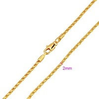 wholesale cheap gold men jewelry 18K gold necklace