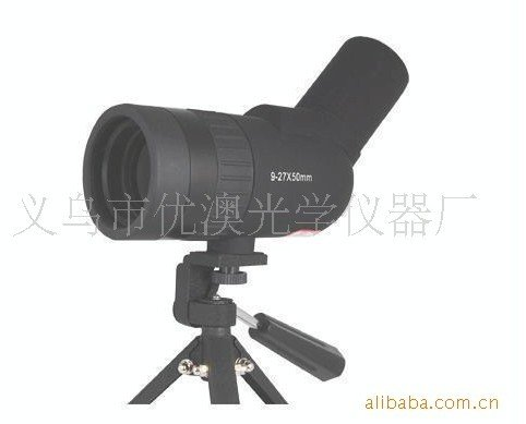 monocular spotting telescope9-27x50 for watching birds viewing target hunting camping freeshipping(China (Mainland))
