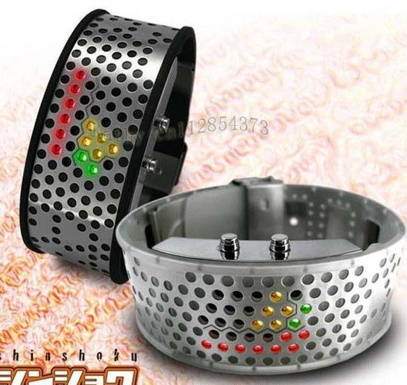 Top Fashion Mens/Lady Bracelet LED WATCH Xmas Gift(China (Mainland))