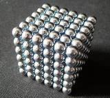 Wholesale Free Shipping 5mm Silver Neocube Toy Neo Cubes Buckyballs Magnetic Spheres Balls