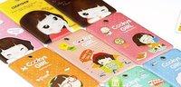 Free Shipping/Cartoon credit card holder/bag/card case/Korean Style card package/bag/Hot Fashion/Wholesale