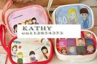 Free Shipping/Cartoon MG PVC Portable Wallet/Cosmetic Bag/key holder/Storage coin bag/small Pocket/Korean Style/Gift/Wholesale