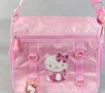 Free shipping Best Selling Hello Kitty schoolbag, Backpack Bag,handbag, shoulder bag,Fashion bag
