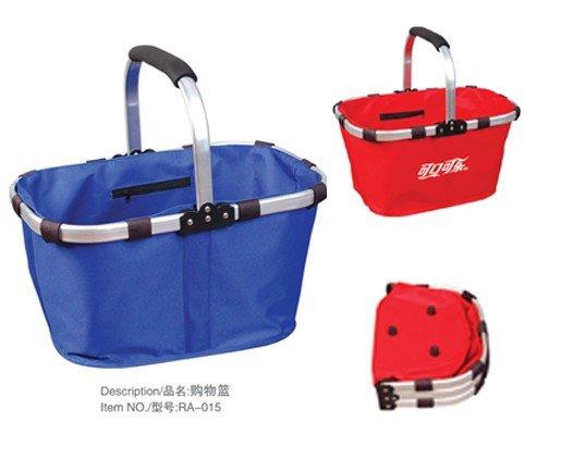 Market Basket Tote Folding shopping fruit laundry gift handbag bag CN post(China (Mainland))