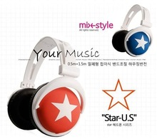 wholesale mix star headphones