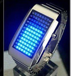 Specail DEAL!!LED Watches, watch with 72 LED Lights FROM South Korea FREE SHIPPING !! LOWEST PRICE ON THE SITE!