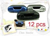 Wholesale 12pcs/lot Car Rubbish Bin Trash Can Garbage Dust Case Box Holder Wastebin
