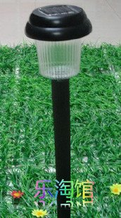 12pcs/lot plastic solar garden light,solar lawn light,solar lamp,solar lantern,Led Light
