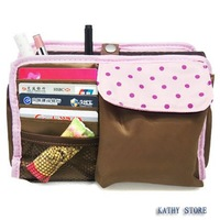 New Bag in bag, cosmetic bag,storage bag, pink