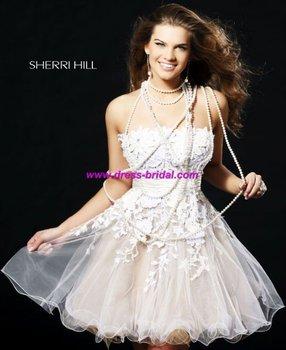 Custom Made 2011 New Arrival Taffeta Sleeveless Free Shipping Cocktail Dress&Evening Dress&Evening gown