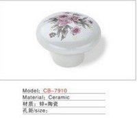 Best selling Ceramic Zinc Alloy Kitchen Cabinet Furniture Handle CBA7910