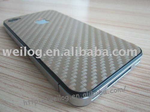 Fashion Back screen guard for Iphone4(China (Mainland))