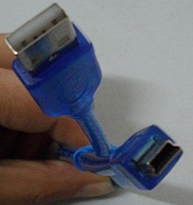 Free Shipping 5 FT USB 2.0 A MALE TO MINI B 5-PIN MALE PC DATA CABLE