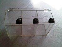 Liquid storage bucket for dosing pump, 3 rooms 1.5L*3