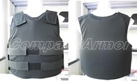 Large Size Covert bulletproof Vest wearing inside protection level NIJ IIIA