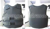 Medium Size Covert bulletproof Vest wearing inside protection level NIJ IIIA