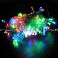 free shipping 6 kind of color led christmas light string light festival holiday string light christmas tree wedding decoration