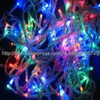 free shipping 32ft 100 lamp led christmas lights festival holiday led string lights