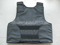 Large Size Concealable bulletproof vest with NIJ IIIA level with free shipping cost