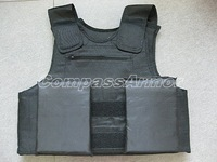 Extra Large Size Police Body Armor IIIA Protection level with trauma plate free shipping cost to world