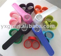 Colorful Silicone Slap Watches