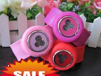 Silicone Wome watch Flap table,free shipping 30pcs/lot
