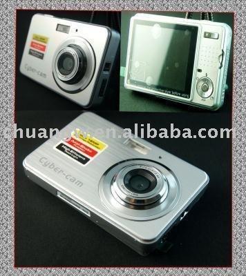 Free Shipping NEW 12.0 MP DIGITAL CAMERA ANTI SHAKE Silver Brand SPEED In Original Box(China (Mainland))