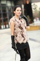 Ladies' Fox  Fur Vest-Fox Waistcoat 007