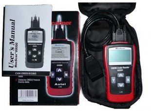Maxiscan GS500 Auto Diagnostic Tester;Code Reader for VW AUDI OBD2 OBDII OBD-2 OBD-II; EXPRESS SHIPPING!!!(China (Mainland))