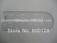 5508 Plastic Drawing  ruler , transport  ruler , White ,  Traffic module ruler