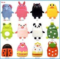 EMS Free shipping hot selling 10pcs/lot Wholesale Linda kids animal cute backpack children school backpacks shoulder bag
