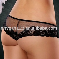 Hot Sale Fashion Women's Ladies Lace Sexy Panties G-string Briefs Underwear Thong DY271P