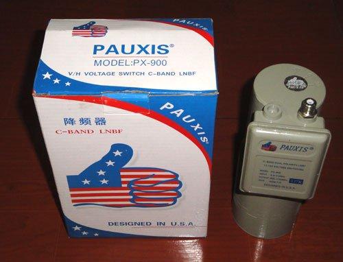 Pauxis PX -900 satélite universal lnbf c sinal de banda c lnbf lnbf(China (Mainland))