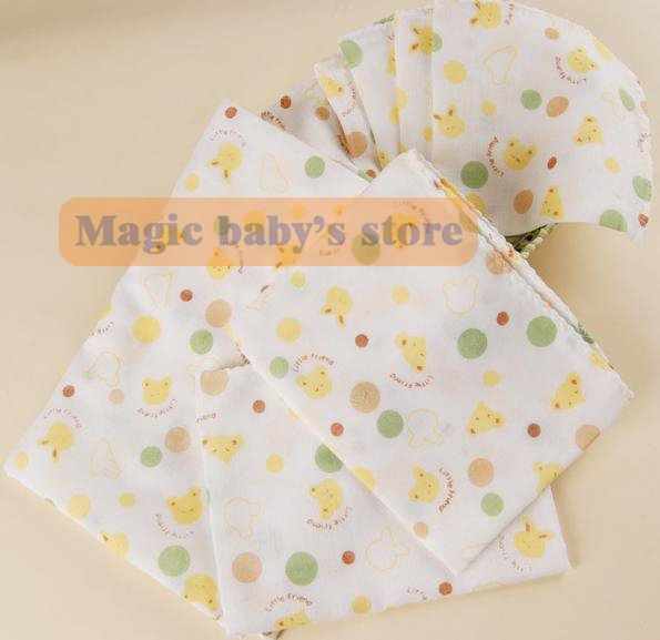 Free shipping/10 pcs/Double sides / gauze / handkerchief /bath towel/face towel / towels saliva(China (Mainland))