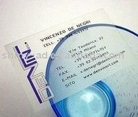 PVC transparent  card