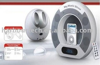 new style portable speaker for iphone,for ipod,with radio