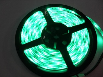90% power saving SMD 5050 RGB Waterproof 150pcs LED Strip + IR Remote +Power
