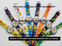 Good quality 30pcs/lot Winnie bear kids 3D watch children Watches wrist watch 3D wristwatch toy can mix order