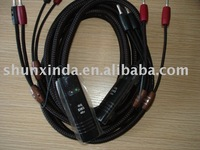 Audio cable GO-4 Speaker Cable with 48V DBS 2.5M NEW Star-quad geometry