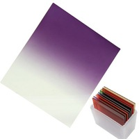 Fotga gradual Mauve square filter for camera DC DSLR