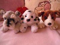 10-Inch plush dog,RUSS Original plush toys,Super soft&cuddly,bionic dog