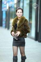 New Fashion Short Style Fox Fur Jacket- Fox Fur Coat 002