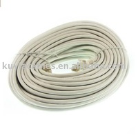 Free Shipping+tracking number !! Beige 50M cat5 patch cord/ cat5 patch cable/RJ45 MALE TO MALE NETWORK PATCH CABLE FOR PC