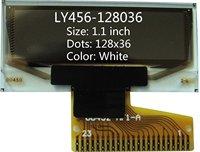 1.1 inch white 128x36 oled screen oled display