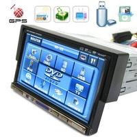 NEW Products & 1 din car dvd with 7inch  HD screen with gps