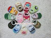 5 pairs/lot- Baby socks/Foot cover 18 designs Floor socks Baby anti-slip socks